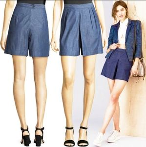 3X1 NYC Shorts High Waist chambray